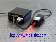 OE13671RS Series - 671nm Red Solid State Laser