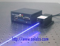 OE13473BS Series - 473 nm Blue Solid State Laser