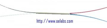 SMC980-2-2 - 980 nm 2x2 SM coupler, 1m bare fiber