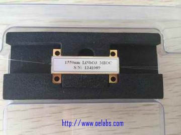IOC-15-09-80-N - 1550nm integrated optical chips(Y waveguide)
