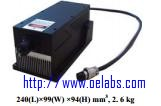 OEMGL-N-543-LD PUMPED ALL-SOLID-STATE GREEN LASER AT 543nm