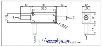 OEFCIR Series-2um Polarization Insensitive Circulator