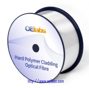 HPCF-Hard Polymer Cladding Optical Fiber